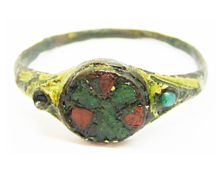 Late Anglo-Saxon / Anglo-Scandinavian Enamelled Finger Ring