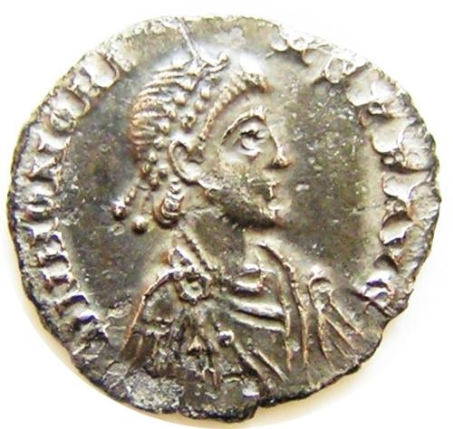 Silver Siliqua of Emperor Honorius
