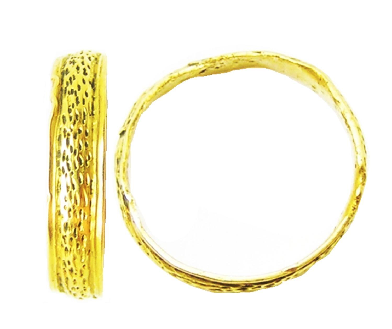 Medieval Ladies Gold Wedding Ring Band