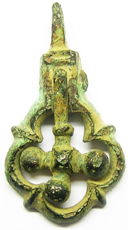 Medieval Heraldic Horse Harness Pendant Crusader Cross