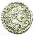 Ancient Roman Silver Siliqua of Julian II Struck at Lyons France - picture 1
