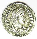 Ancient Roman Silver Siliqua of Julian II Struck at Lyons France - picture 3
