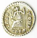 Roman Silver Siliqua of Emperor Valens EF - picture 2