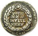 Nice Roman Silver Siliqua of Constantius II GVF - picture 1