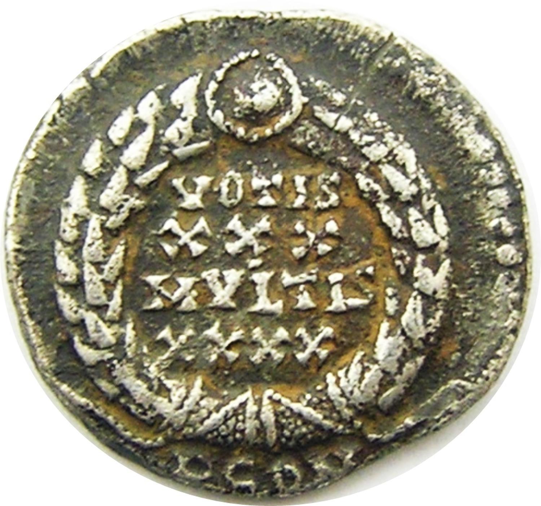 Nice Roman Silver Siliqua of Constantius II GVF