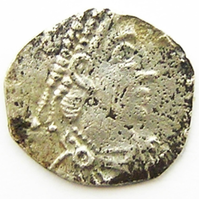 Roman Silver Siliqua Clipped Saxon Coinage