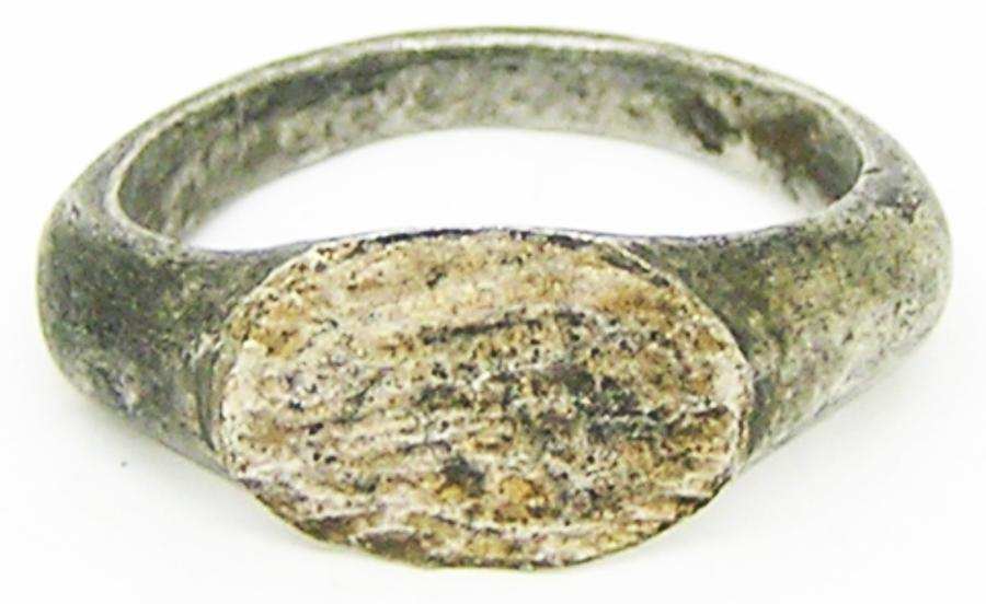 Roman Silver Finger Ring  Henig Type III