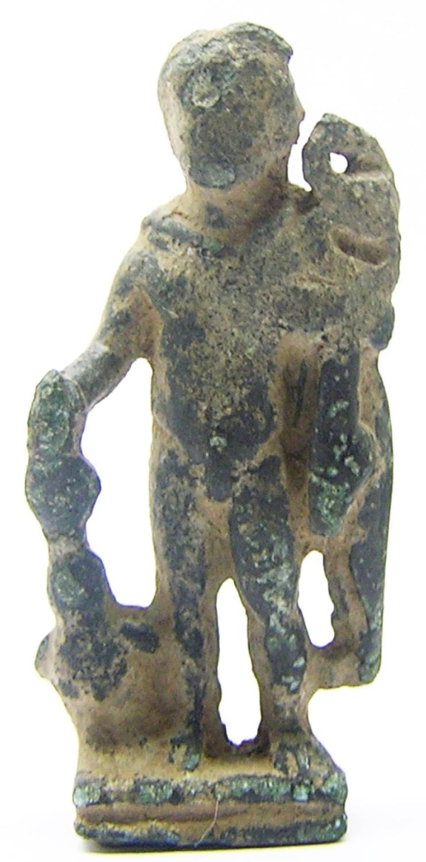 Roman Bronze Amulet of Mercury