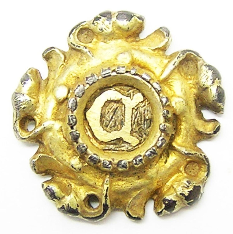 Tudor Silver-gilt Hat Badge Cromwell / Cranmer