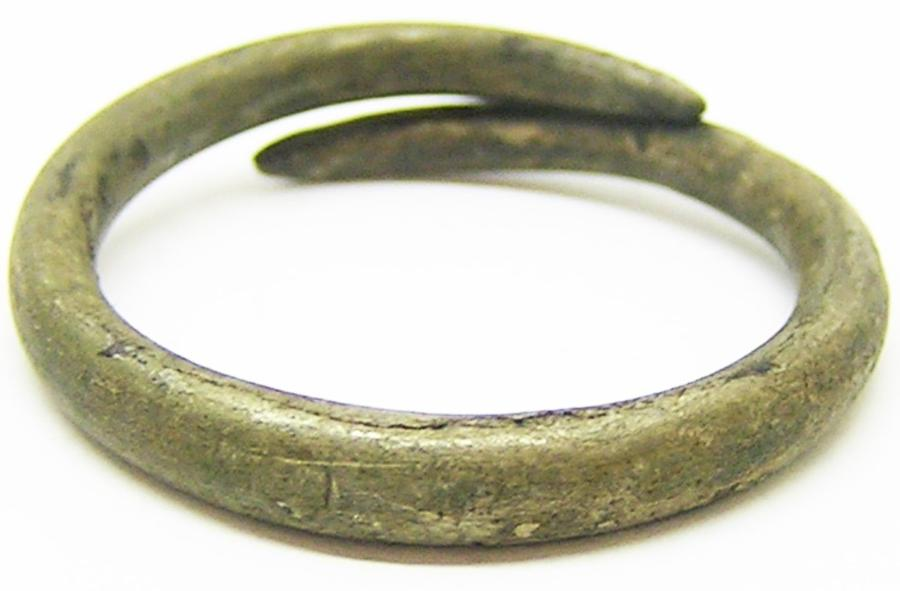 Iron Age Celtic Silver Finger Ring