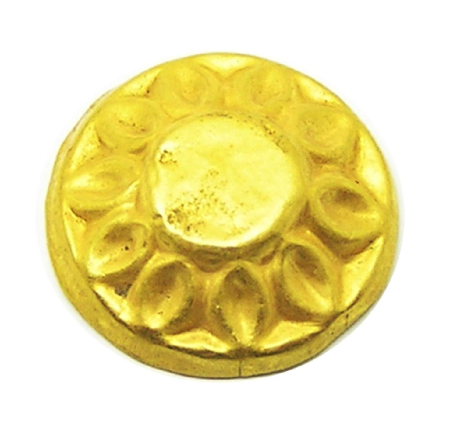 Ancient Scythian Greek Gold Appliqué Repoussé Design