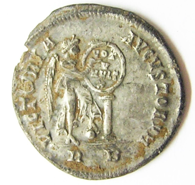 Roman Silver Miliarense of Emperor Valens Ex. Thruxton Hoard