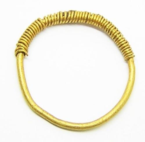 Iron Age Celtiberian Gold Finger Ring