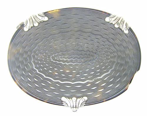 Georgian Silver & Tortoise Shell Magnifying Glass
