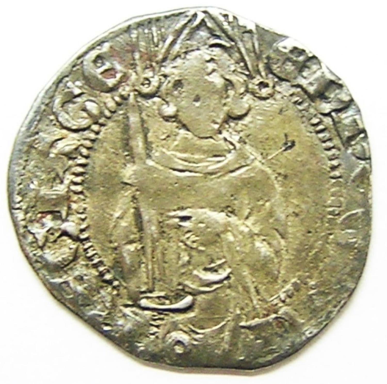 Black Prince Anglo Gallic Hardi D'Argent Poitiers Mint