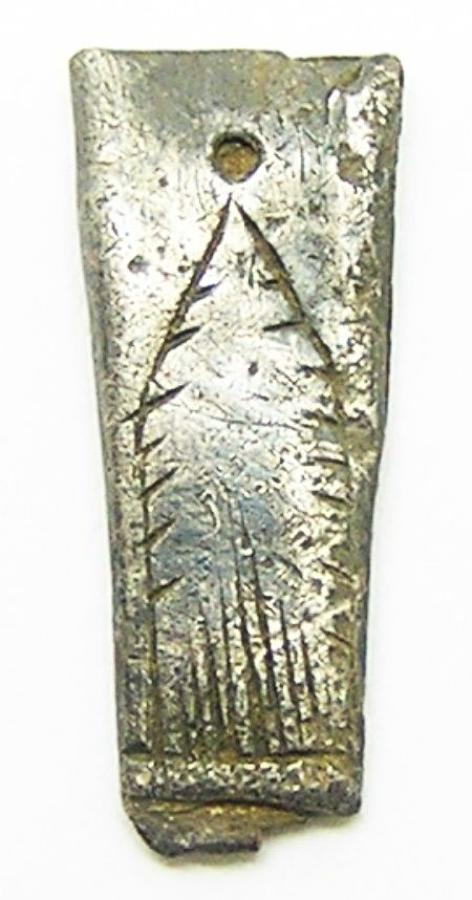 Tudor Period Silver Aiglet Lace Tag