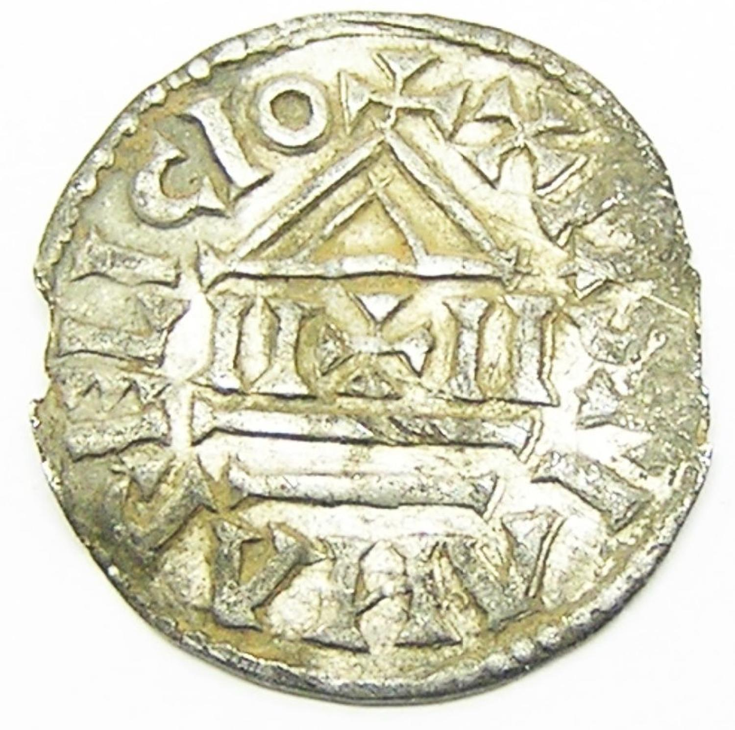 Viking Danegeld Silver Denier of Louis the Pious