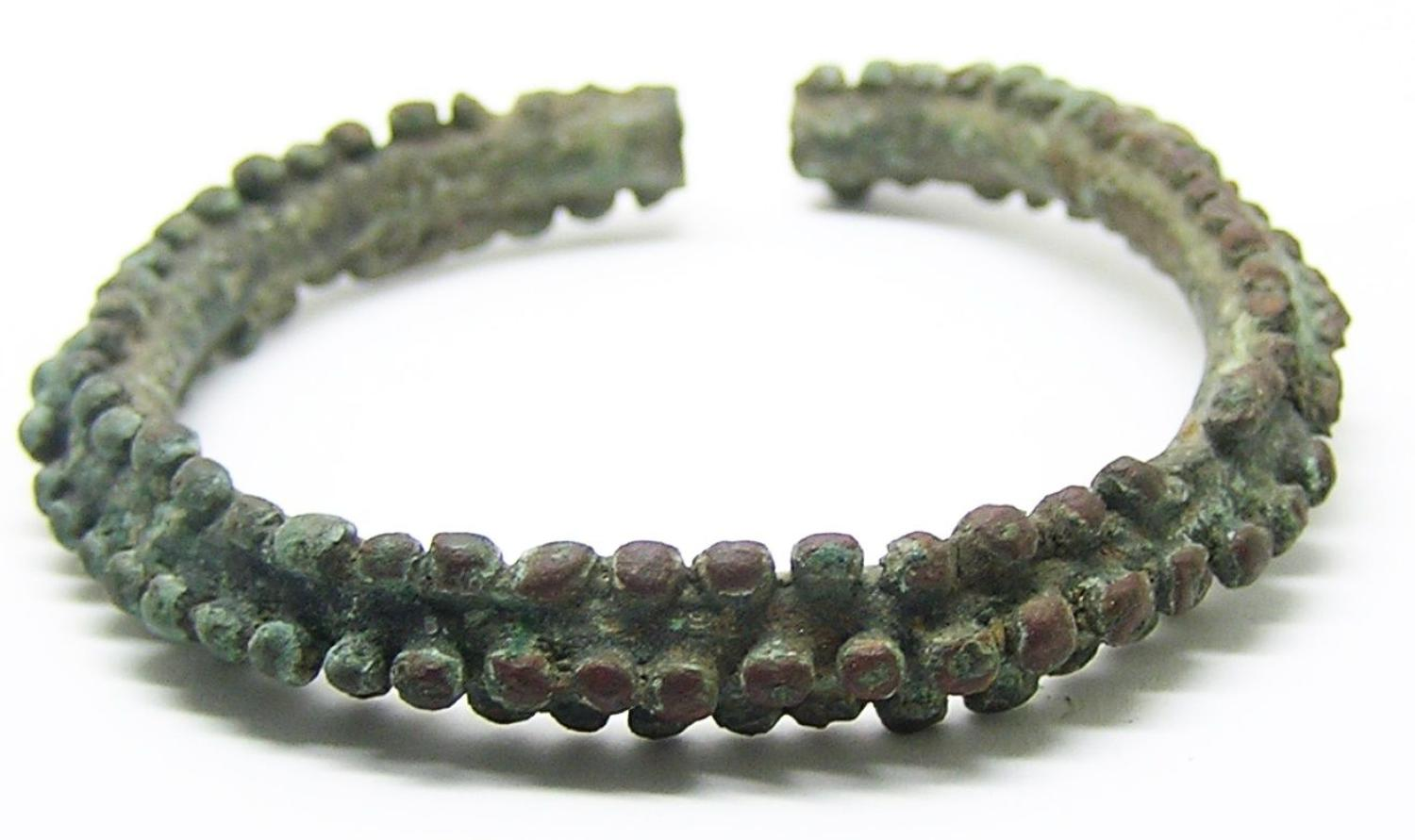 Iron Age Celtic Knobbled Bracelet