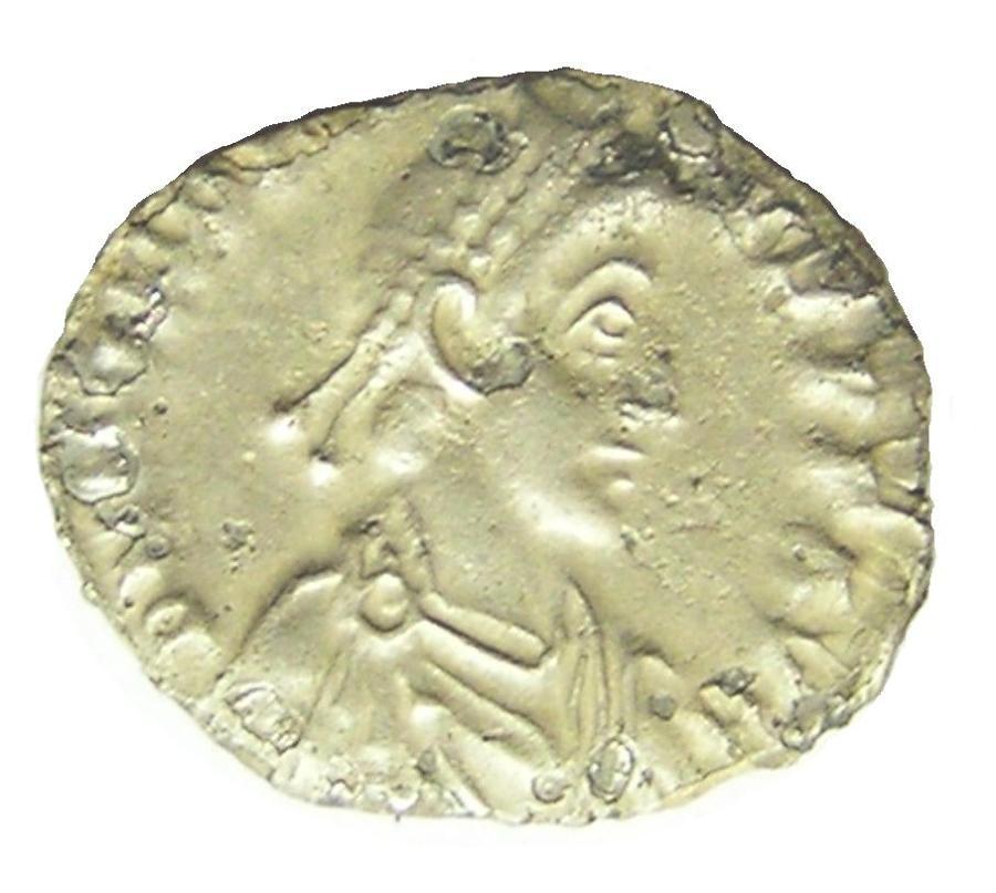 Roman Silver Siliqua of Emperor Honorius