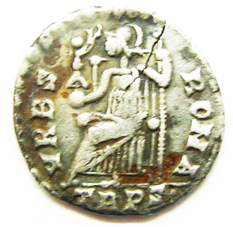 Roman Silver Siliqua of Emperor Valens