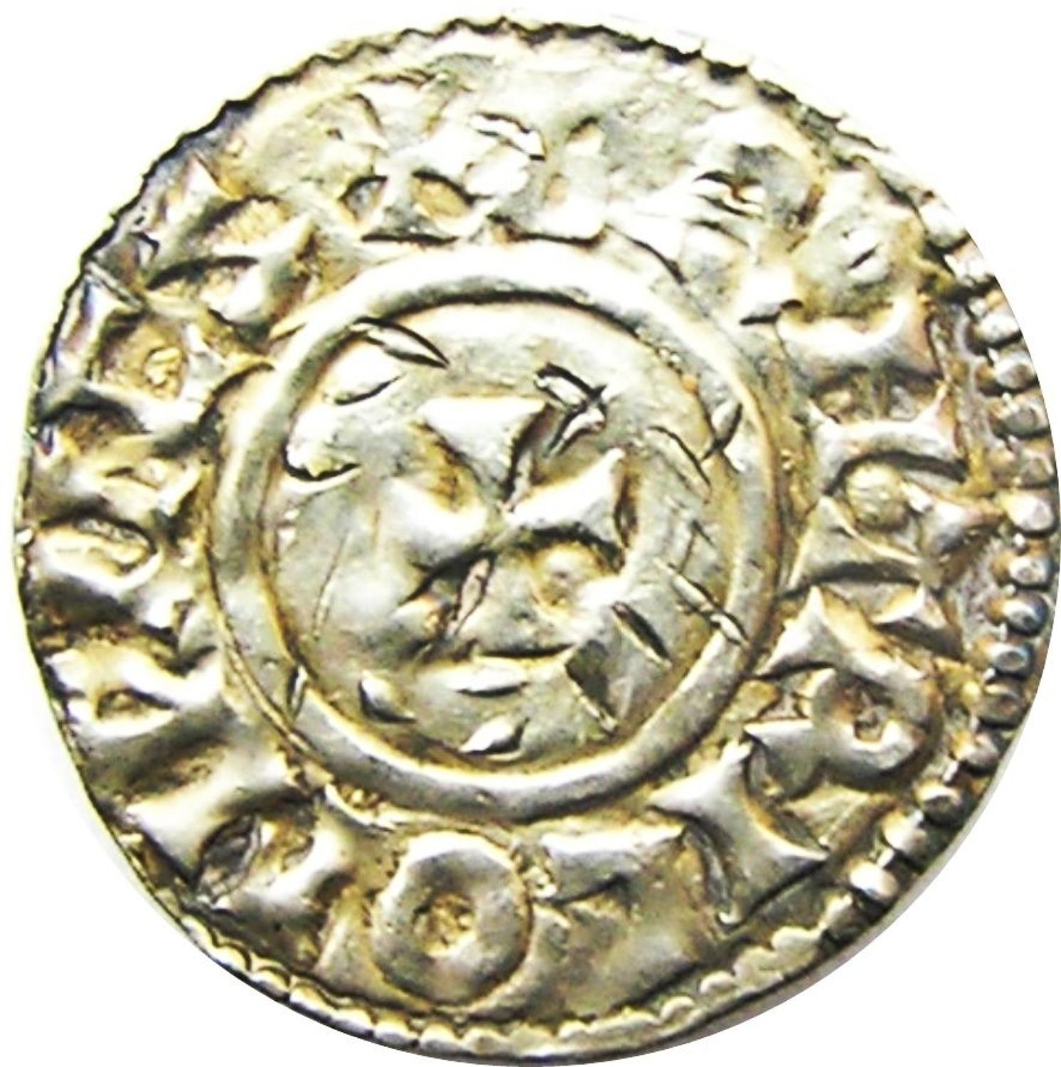 King Aethelred II Silver Penny by BRIHTRIC of Winchester