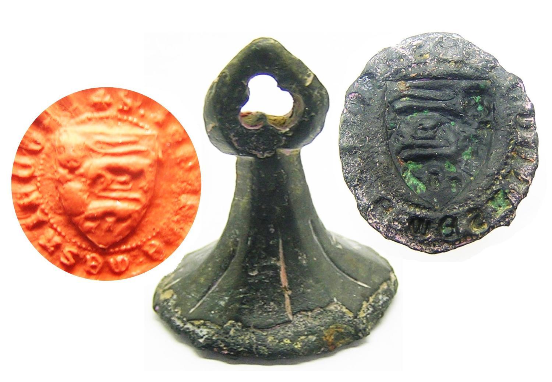 Medieval Armorial Seal Matrice