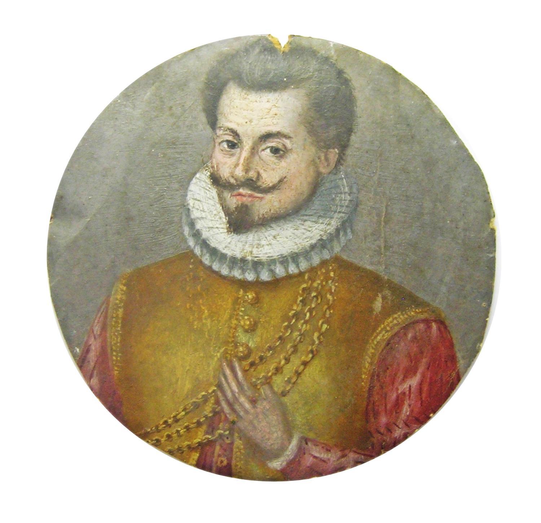 Renaissance portrait miniature of Gaspard de MONTMAYEUR