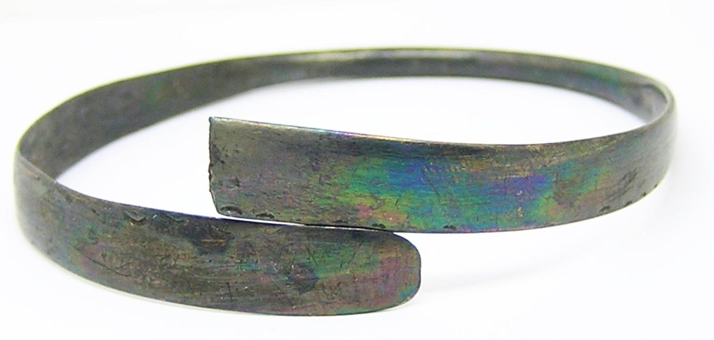 Scandinavian Viking Silver Bracelet