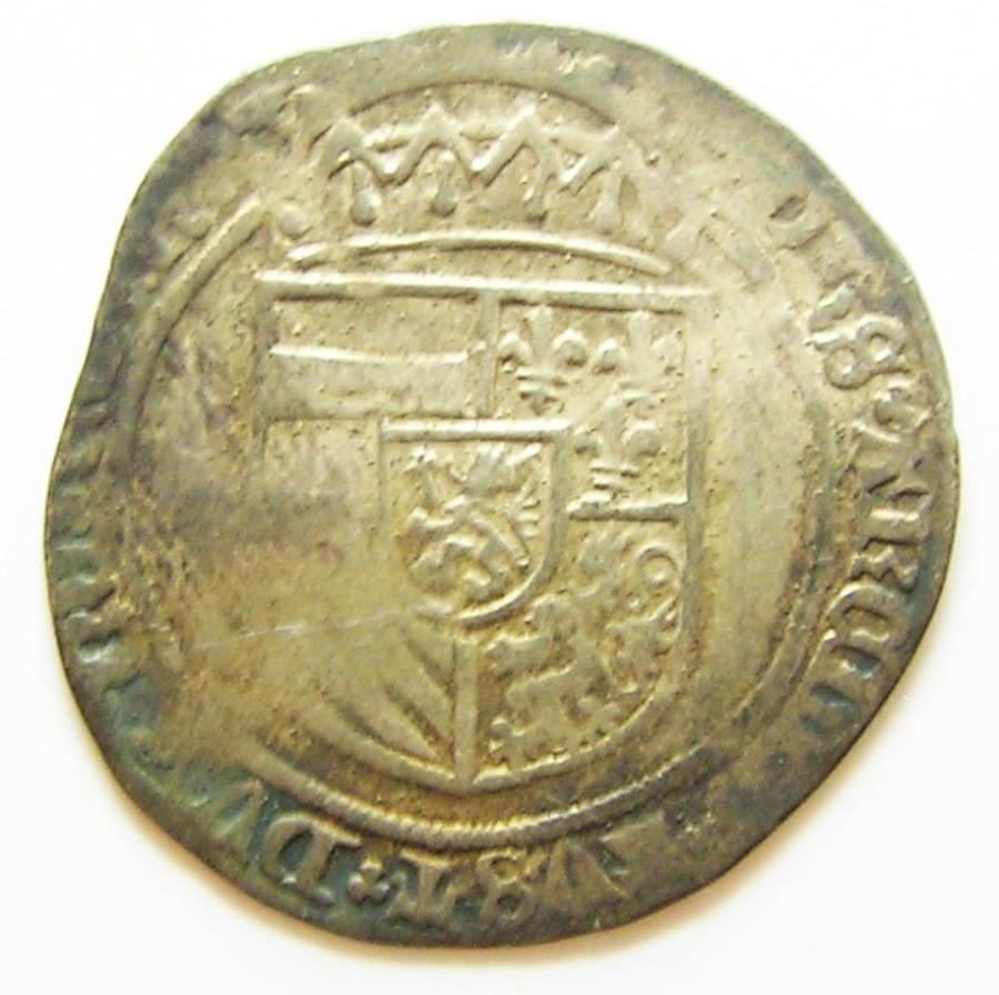 Medieval Flanders Philip the Handsome Double Patard
