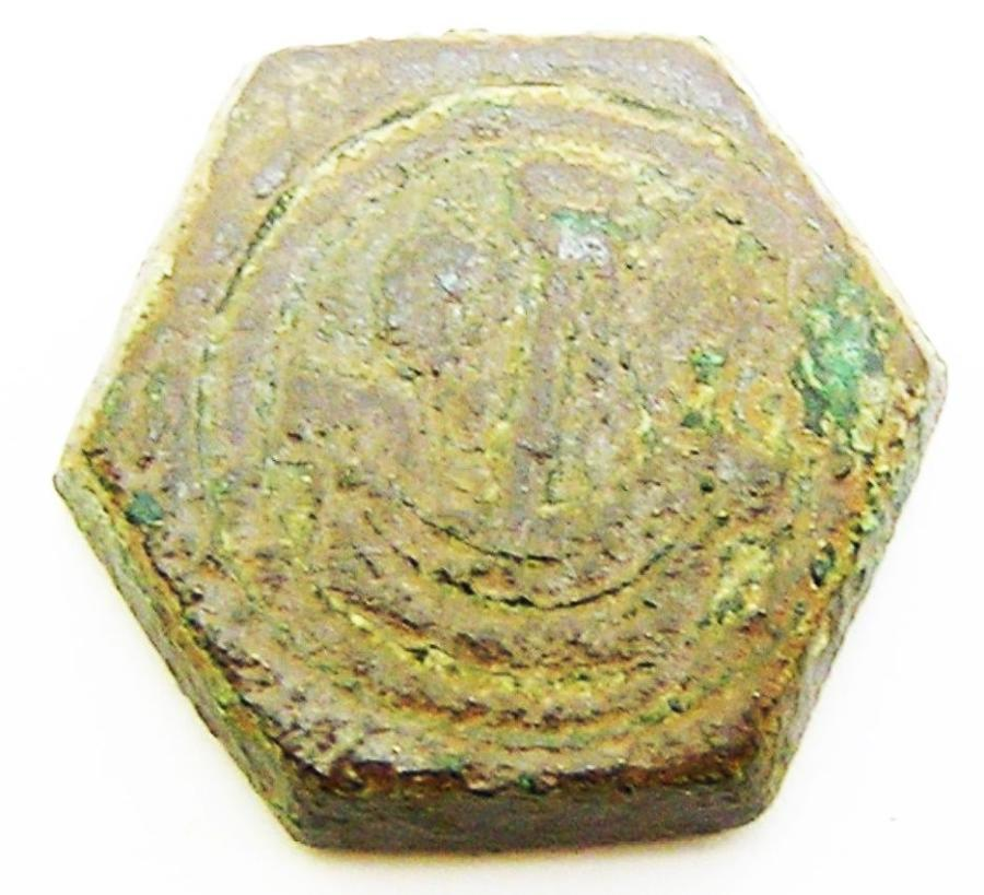 Coin weight for an English Medieval Gold Noble
