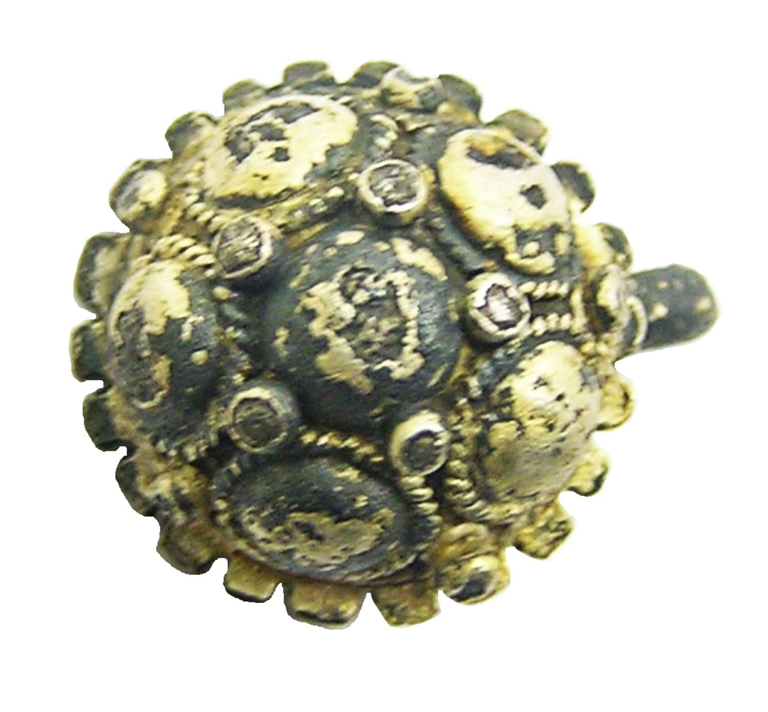 Tudor period silver-gilt hat badge
