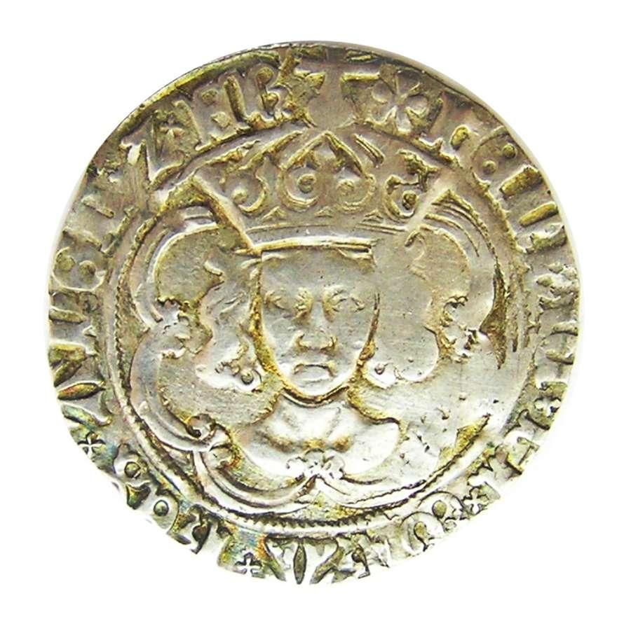 King Henry VII Silver Groat