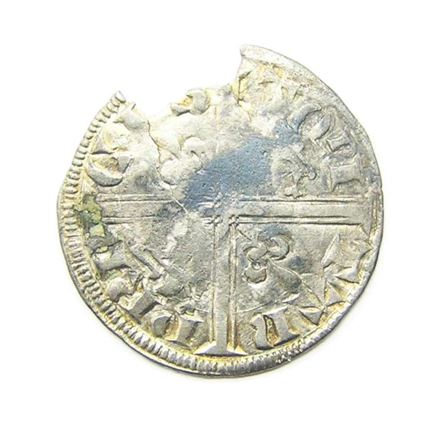 Black Prince Anglo Gallic Hardi d'Argent La Rochelle Mint