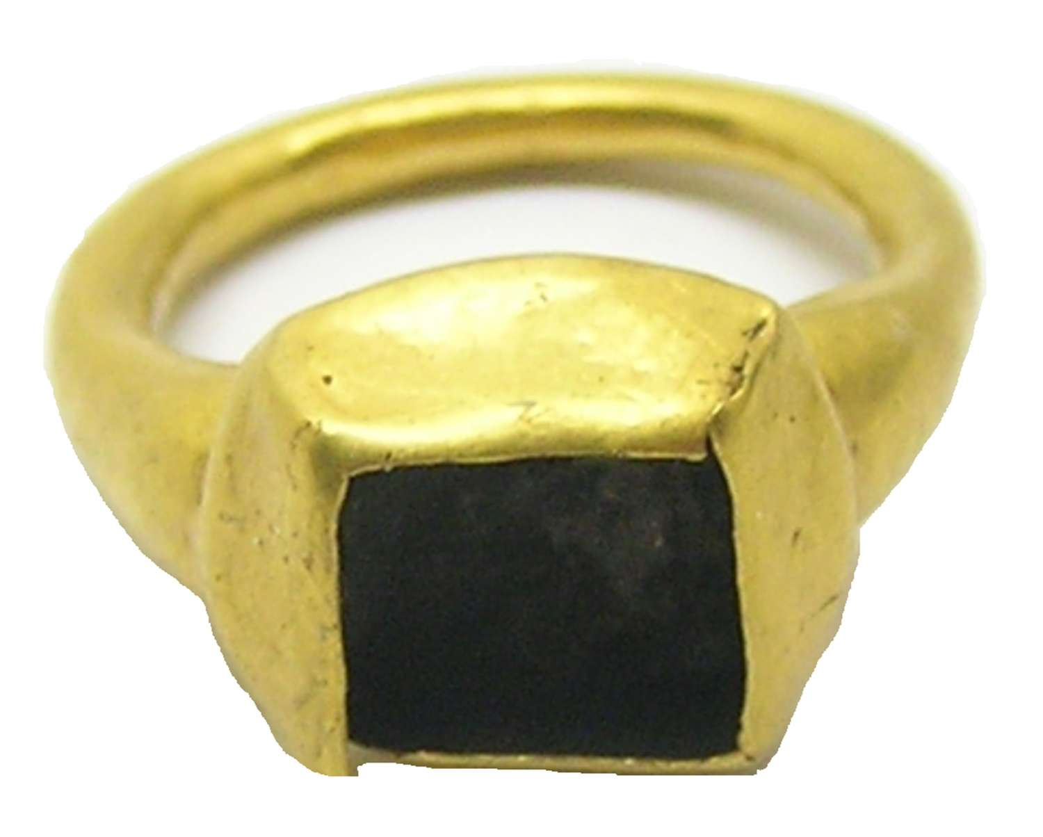 Late Medieval Tudor period gold finger ring