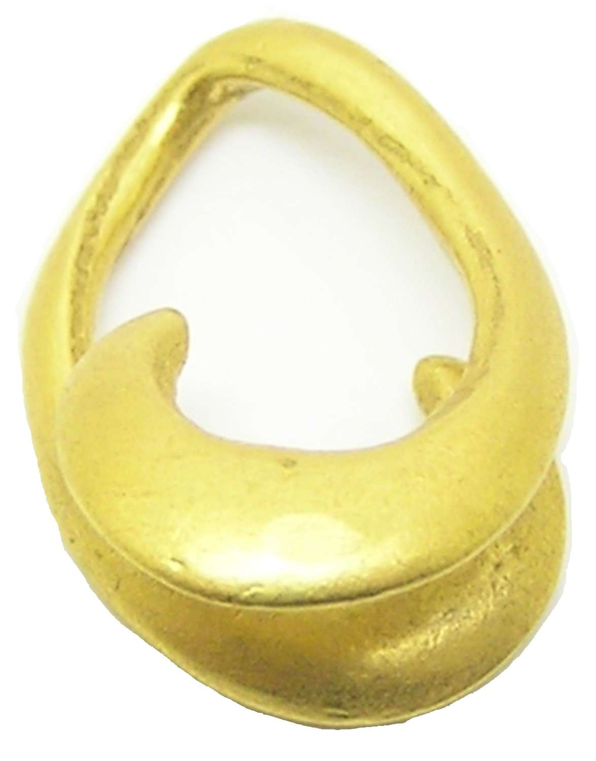 Middle Bronze Age Gold Lockenring Ring Money