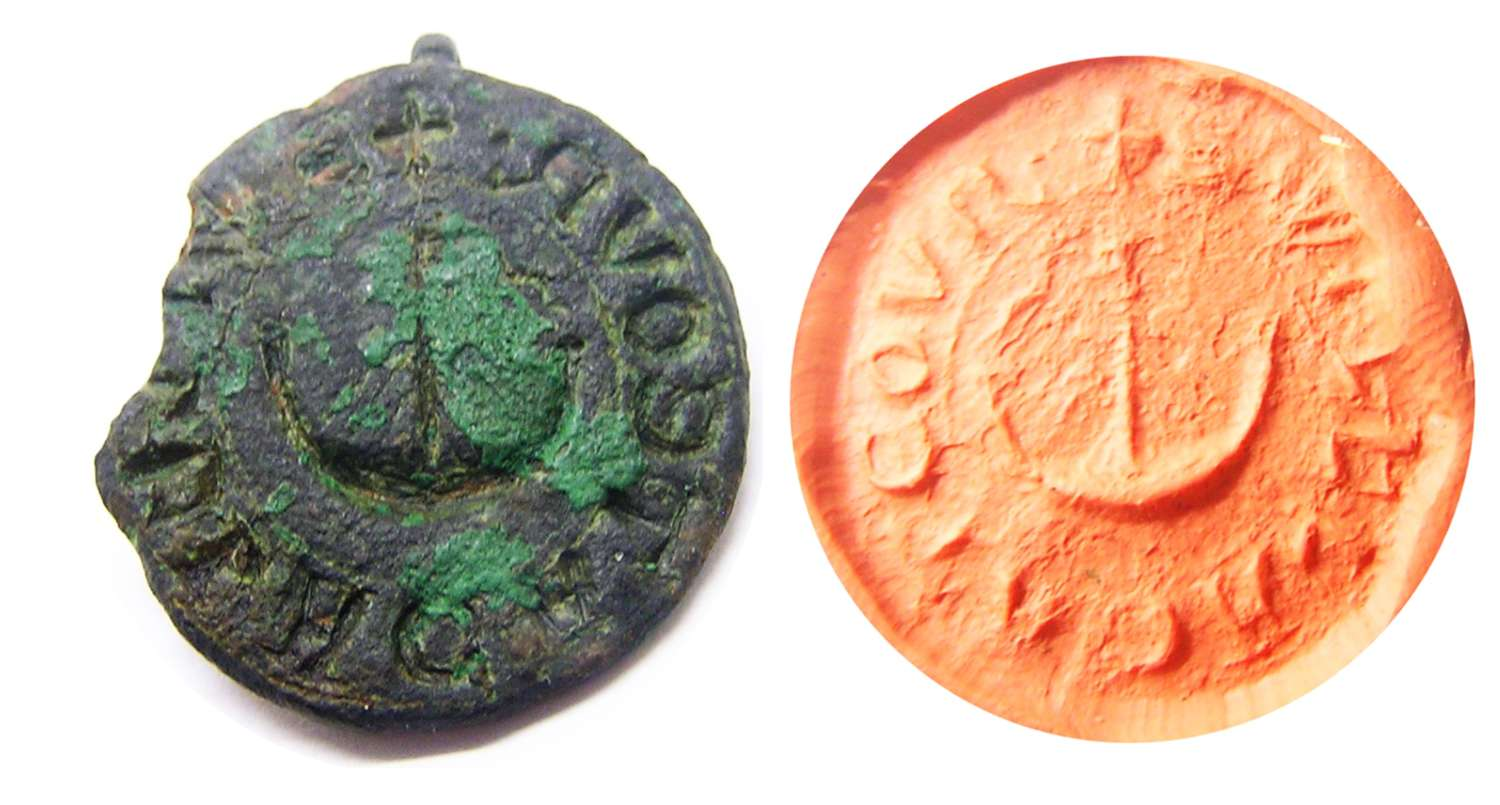Medieval nautical seal captain/merchant from Sussex