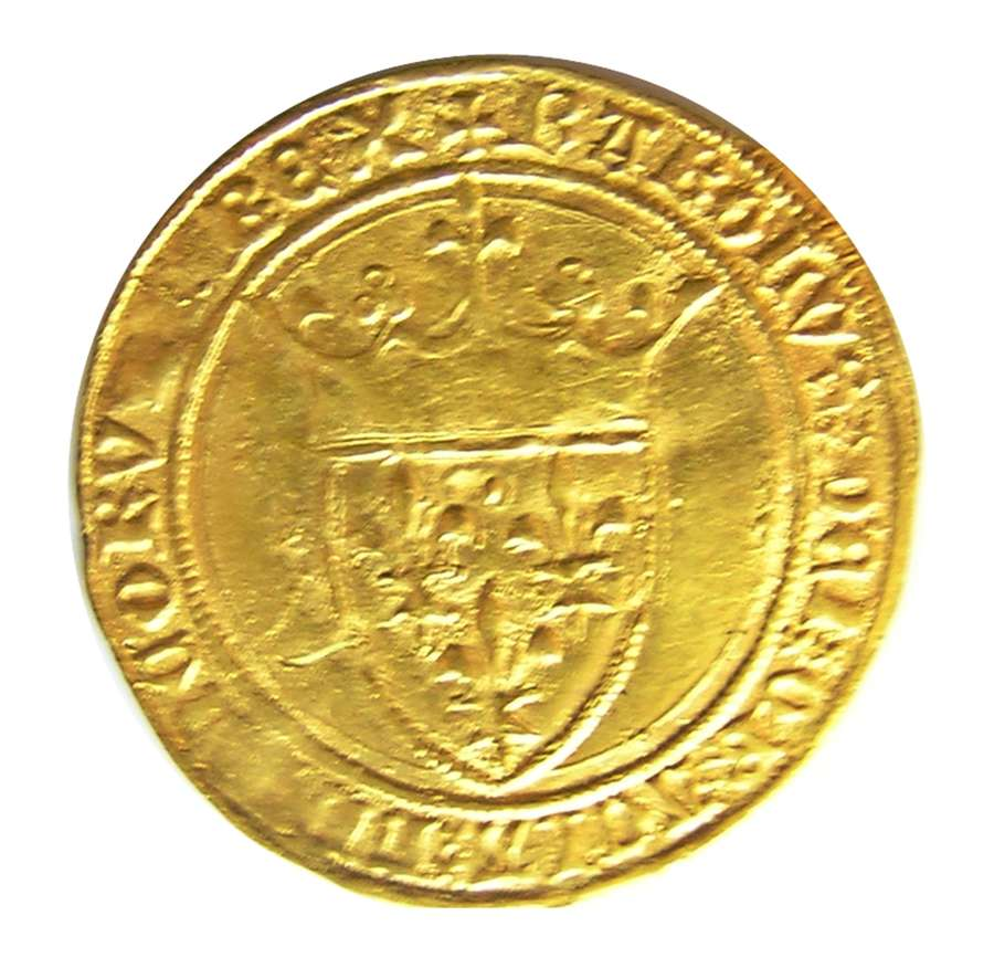France: Ecu d'Or - Charles VI