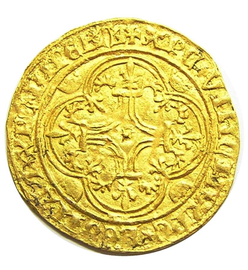 Medieval France: Ecu d'Or - Charles VI