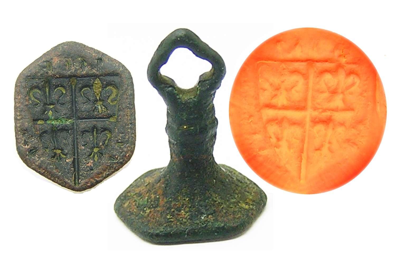 Medieval armorial counter-seal