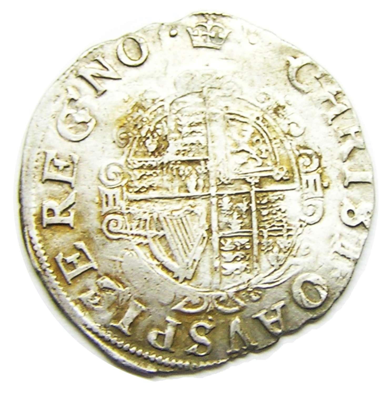 King Charles I Silver Shilling