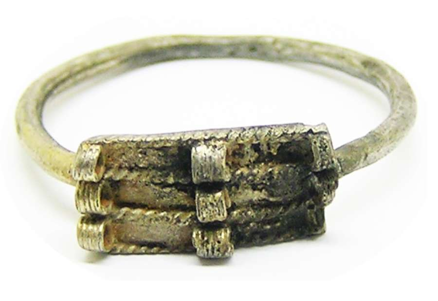 Ancient Roman silver Finger Ring