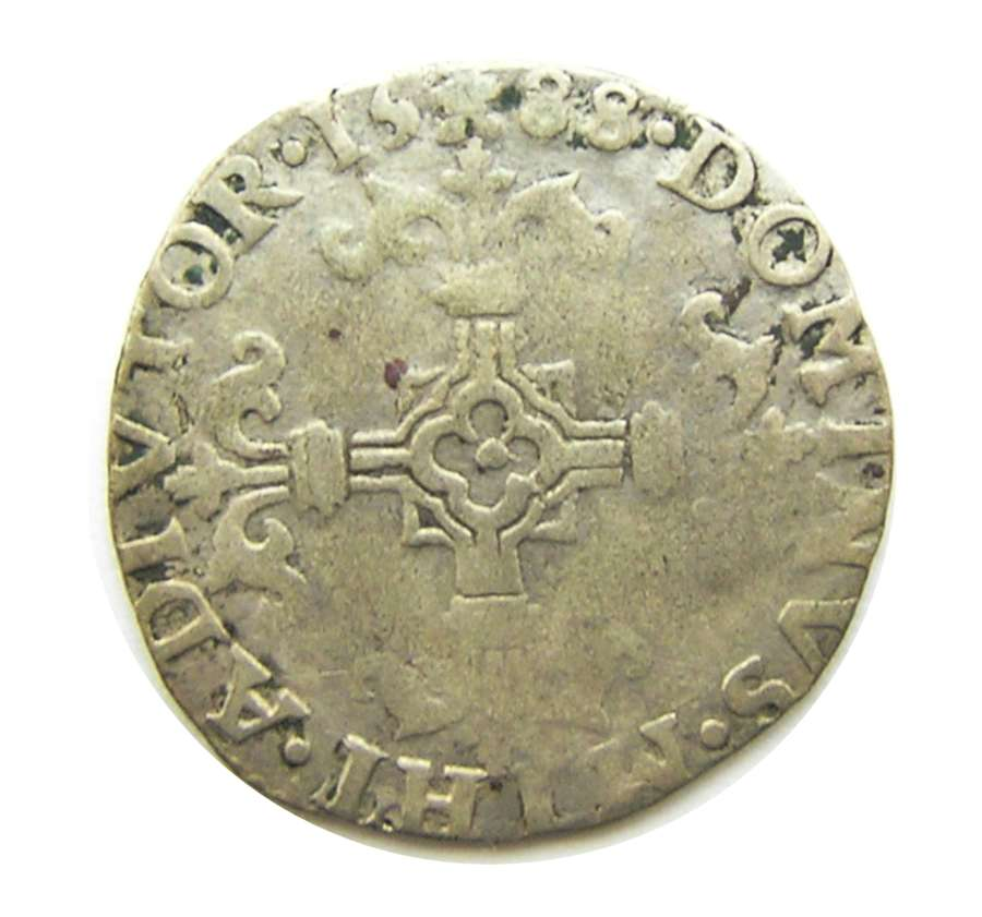 Rare Spanish Armada 1/20 Escudo of king Philip II