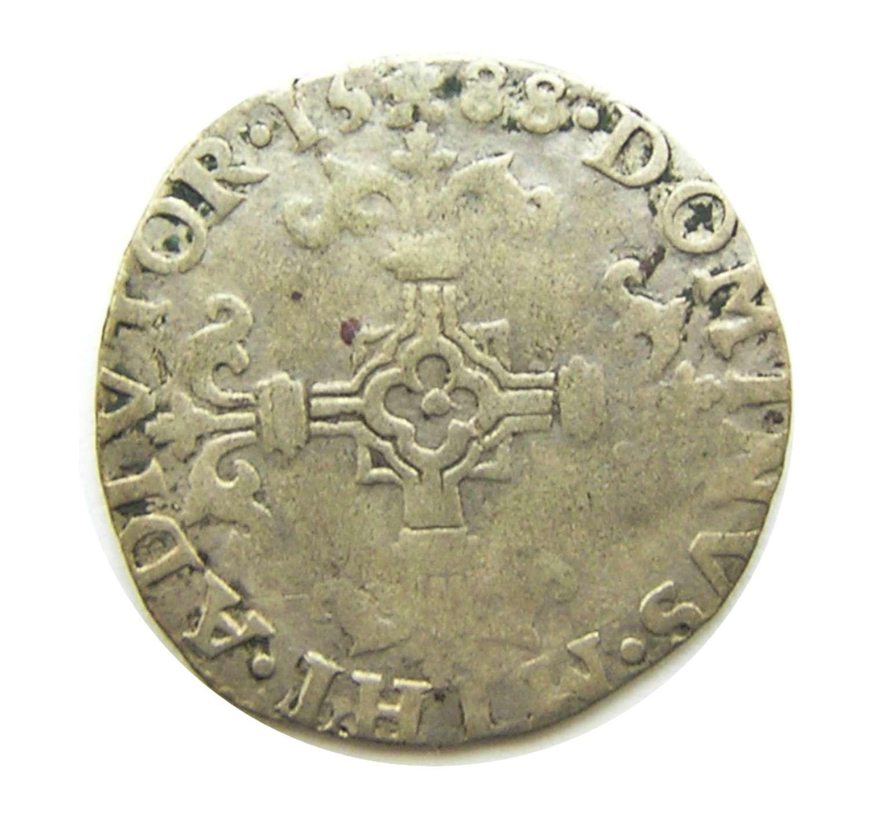 Rare Spanish Armada 1/20 Escudo of king Philip II