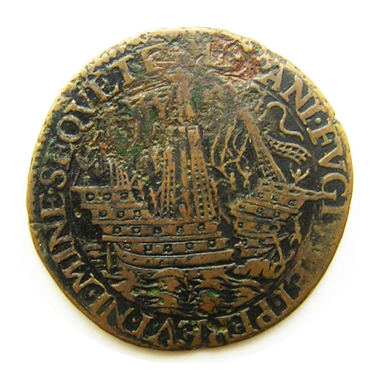 AE Rekenpenning Defeat of the Spanish Armada Dordrecht Netherlands