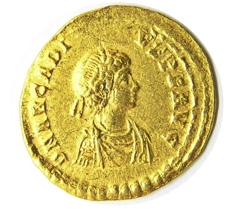 Roman Gold Solidus of Emperor Arcadius Constantinople Mint