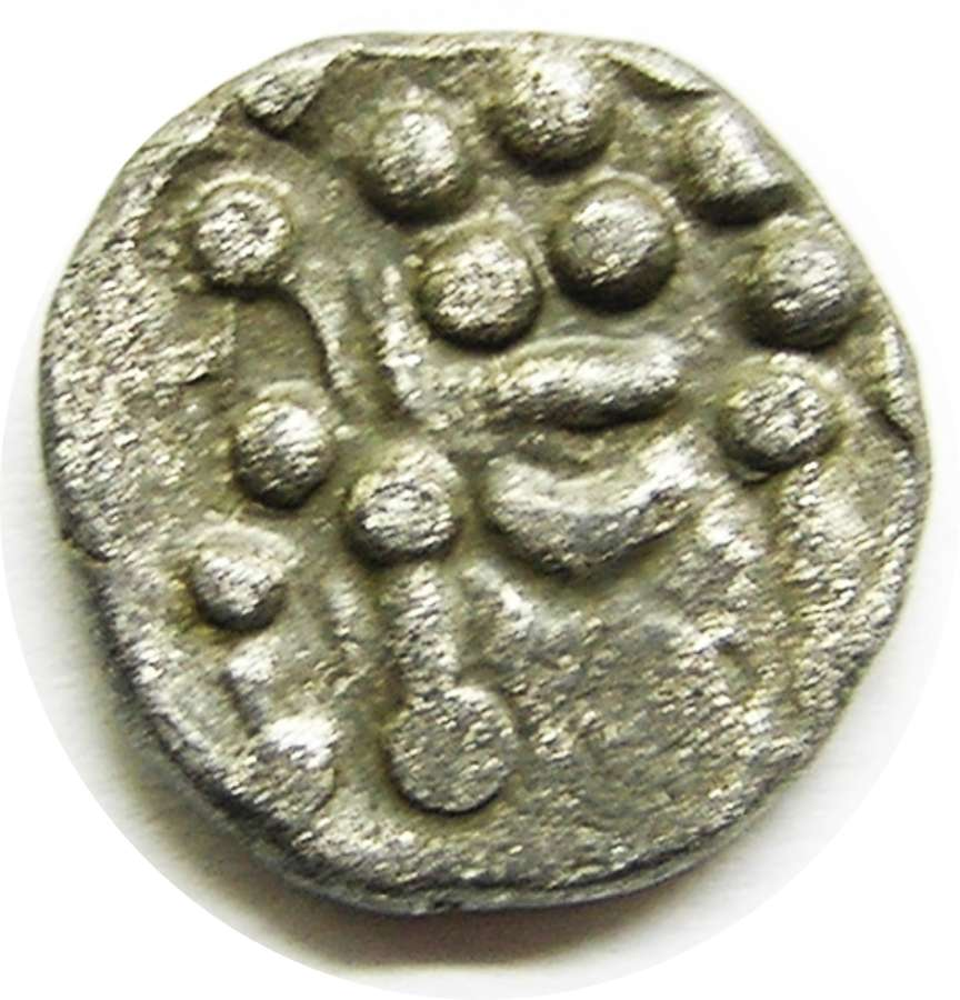 British Iron Age Celtic Durotriges 'Cranborne Chase' Silver Stater