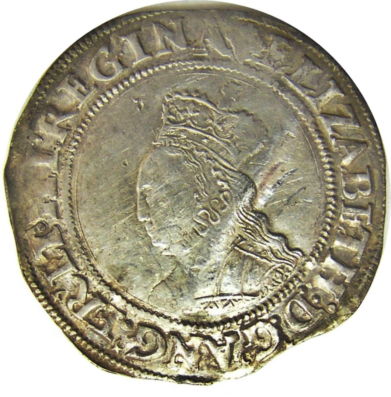 Queen Elizabeth I Tudor Silver Shilling