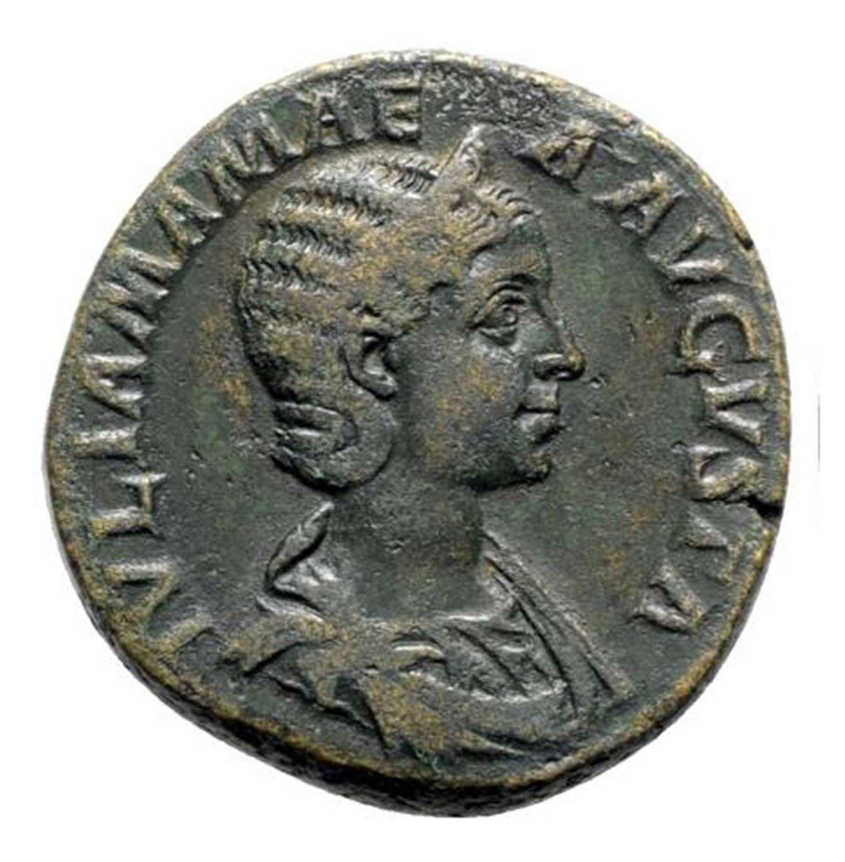 Ancient Roman AE Sestertius of Empress Julia Mamaea / Felicitas