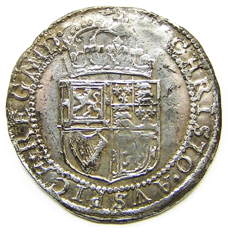 Scotland: King Charles I silver Half Merk (6 shillings 8 pence)