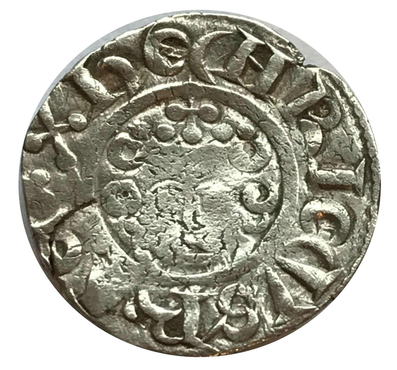 King Henry III Silver Penny London 7c